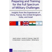 Preparing and Training for the Full Spectrum of Military Challenges by David E. Johnson