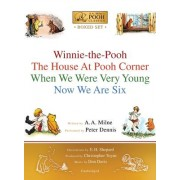 A.A. Milne's Pooh Classics Boxed Set: Winnie-The-Pooh; The House at Pooh Corner; When We Were Very Young; Now We Are Six