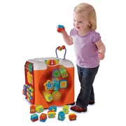 Activity Cube Teach Numbers, Light Piano Keys, Shapes, Colors & Music
