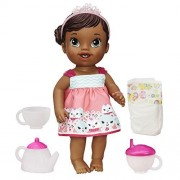 Baby Alive Lil' Sips African American Baby Has a Tea Party Doll by Baby Alive