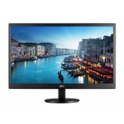 "AOC E2470SWHE 23.6"" Full HD LCD Black computer monitor LED display"