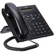 Cisco Systems Unified IP Phone 6921, Standard Handset Teléfono (Standard Handset, Negro, G.711, G.711a, G.729a, SCCP, 0 40 °C, UL 60950, CSA C22.2 No. 60950, EN 60950, IEC 60950, AS/NZS60950, TS 001, 164 x 188 x 205 mm)