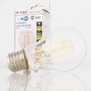 Lâmpada LED E27 4w»40W Luz Natural 400Lm A60 CLEARglass