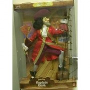 Mattel Peter Pan Masters of Malice Captain Hook Doll