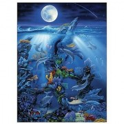 Master Pieces Dolphin Reef 550 Piece Jigsaw Puzzle