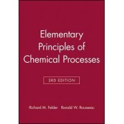 Elementary Principles of Chemical Processes: Student Workbook by Richard Mark Felder
