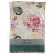 Perdele Linens and Lace Rose Jacquard