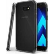 Skin Ringke Samsung Galaxy A5 2017 Fusion Smoke Black + Bonus folie protectie display Ringke