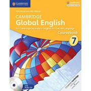 Chris Barker Cambridge Global English Stage 7 Coursebook with Audio CD: for Cambridge Secondary 1 English as a Second Language (Cambridge International Examin)