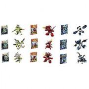Lego Mixels Series 4 Complete Set of 9 Globert Vampos Boogly Meltus Flamzer Burnard Rokit Niksput Nurp-Naut