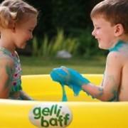 Gelli baff Bath Goo - Kit con Piscina da giardino