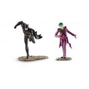 Figurine Schleich - Set Batman VS Joker - 22510