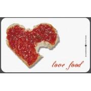 """Planchette pour Petit déjeuner """"love food"""""""