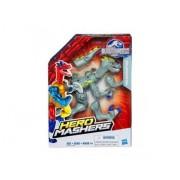 Hero Mashers - Figurine Jurassic World Velociraptor Gris - Dinosaures - Hasbro Dino