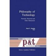 Philosophy of Technology by Paul T. Durbin
