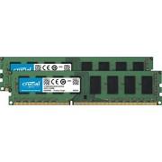 Crucial 8GB Kit 4GBx2 DDR3L 1600 MT s PC3L-12800 Unbuffered UDIMM Memory CT2K51264BD160B
