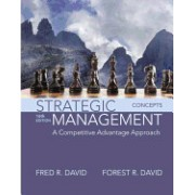 Strategic Management: A Competitive Advantage Approach, Concepts Plus Mymanagementlab with Pearson Etext -- Access Card Package