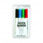 Set Markere Whiteboard MagPaint 4buc.