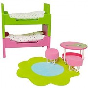Lundby Smaland Dollhouse Children's Room Set