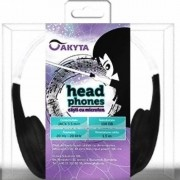 Casti Akyta Over-Head AC-9010 Black-White
