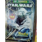 Star Wars My Terrific Book to Color with Over 30 Stickers & 144 Pages ~ Yoda Wisdom of Warriors