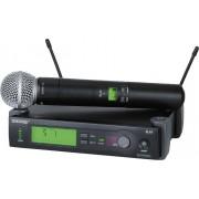Shure SLX24/SM58 Sistema Microfone Sem Fio