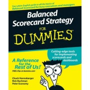 Balanced Scorecard Strategy For Dummies by Charles Hannabarger