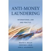 Anti-money-laundering by Wouter H. Muller