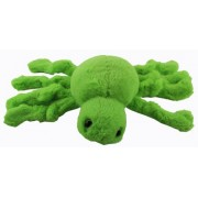 Scary Spider Magnets - Plush Spider Magnet (Green) [Toy]