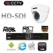 CCTV Set HD SDI - 1x 1080P kamera s 30m IR + HD SDI DVR