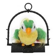 Aaryan Enterprise 7inch Talk Talking Back Parrot Bird Kids Toy - 80