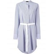 Theory платье-рубашка в полоску 'Jodalee' Theory