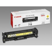 CANON CRG 718Y, Toner Cartridge, Yellow (CR2659B002AA)