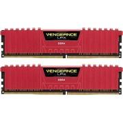 Corsair Vengeance LPX CMK16GX4M2B3466C16R Kit di Memoria RAM da 16GB, 2x8GB, DDR4, Rosso