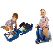Worlds Apart Skoot Kids Ride on Scooter - Blue