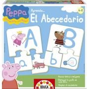 Educa Borras 15652 - Peppa Pig - Imparando L'Alfabeto, Gioco Educativo