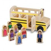 Melissa & Doug School Bus Play Set