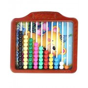 Ratna's educational 2 in 1 learn to count slate for kids to learn counting, writing and start their preschool learning early at home