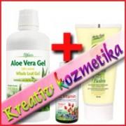 Regeneráló pakolás (Aloe gél 946 ml + Herba Gold Aktív Balzsam 75 ml + LCVitamin cseppek 30 ml)