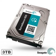 HARD DISK 3TB 7200RPM 64MB SEAGATE SURVEILLANCE HDD ST3000VX000