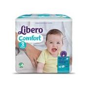 Fraldas comfort 4-9kg, 30 unidades - Libero