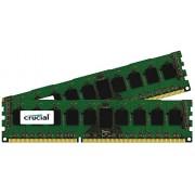 Crucial 16GB kit (8GBx2) DDR3 PC3-12800 16GB DDR3 1600MHz Data Integrity Check (verifica integrità dati) memoria