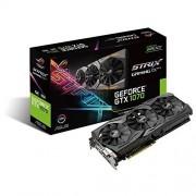 Asus ROG STRIX-GTX1070-O8G-GAMING Carte graphique Nvidia GeForce GTX 1070, 1860 MHz OC, 8GB GDDR5X 256 bit, DirectCU III
