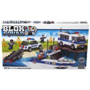 Mega Bloks - 02441U - Set de construcción - Blok Squad Ultimate - Vehículos Policía - Surtido