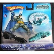 Hot Wheels DC Comics Batman vs Mr Freeze 1:64 Scale Die Cast Car 2 Pack