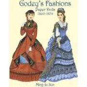Godey's Fashions Paper Dolls 1860-1879 by Ming-Ju Sun