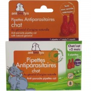 Pipettes antiparasitaires chat Anibiolys