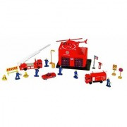 Small World Toys Vehicles - Fire Station 20 Pc. Playset