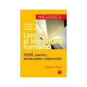 Limba si literatura romana. Teste pentru evaluarea nationala clasa a VIII-a.