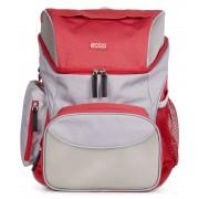 Rucsac fete Ecco Back To School (Rosu/Gri)